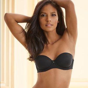 d79f34155641c Soma Intimates   Sleepwear - Soma Intimates Embraceable Strapless Bra Black  34B
